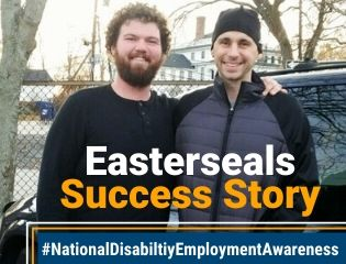 Disabiltiy Employment Awareness Month Success Story with Chris Richards.