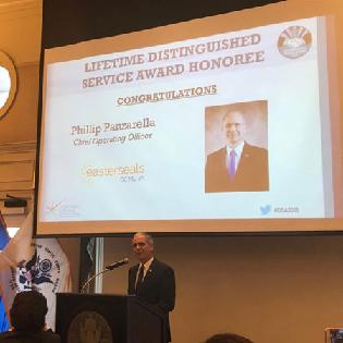 Northern Virginia Chamber of Commerce Presents Phil Panzarella with Lifetime Distinguished Service Award