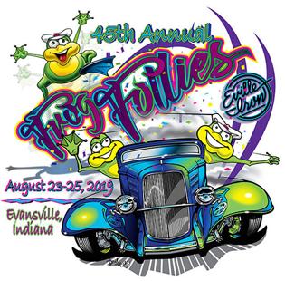 Frog Follies logo 2019