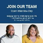 Join our team open interview day image