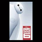 Big Hero Six movie poster featuring robot