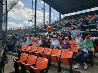 Hagerstown Suns Baseball Game is a Hit with Adult Day Services Participants