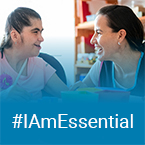 #IamEssential - woman and child