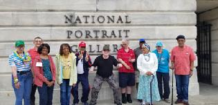 Picture Perfect Day at the National Portrait Gallery