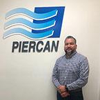 1000 Veteran Employed Manny next to Employer Piercan's Logo