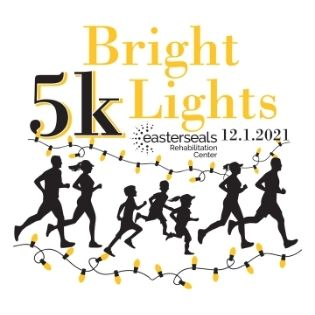 2021 Bright Lights 5K logo