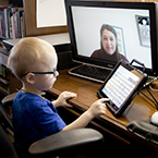 Jonathan in teletherapy