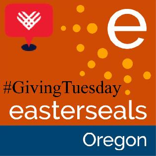 Easterseals Oregon #GivingTuesday Logo