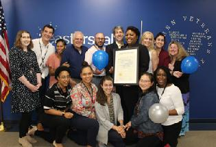 The Steven A. Cohen Military Family Clinic at Easterseals Earns Three-Year CARF Accreditation