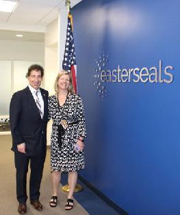 Congressman Jamie Raskin Visits the Harry and Jeanette Weinberg Inter-Generational Center