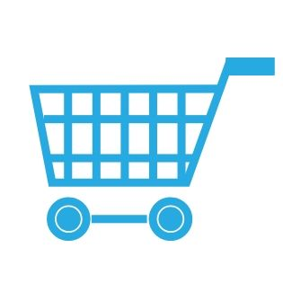 graphic of a shopping cart