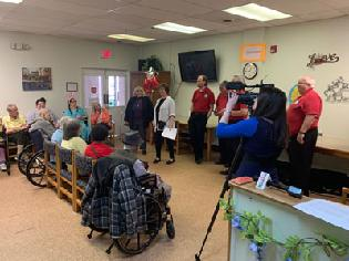 Easterseals Adult Day Services in Hagerstown and Mason-Dixon Barbershop Chorus Unite to Celebrate Anniversaries