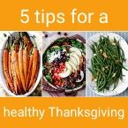 TEXT 5 Tips for a healthy thanksgiving