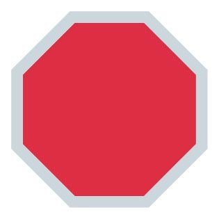 graphic of a stop sign