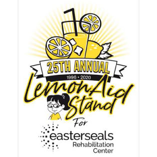 25th anniversary LemonAid Stand for Easterseals logo