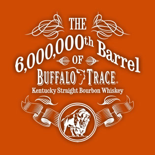 Buffalo Trace 6 millionth barrel logo