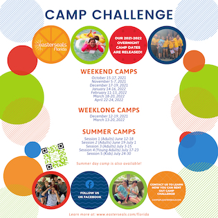 easterseals florida, easterseals, sorrento, camp challenge