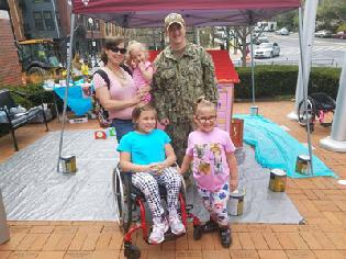 Cohen Clinic Partners with Habitat for Humanity to Build Playhouse for Military Family in Easterseals Respite Program