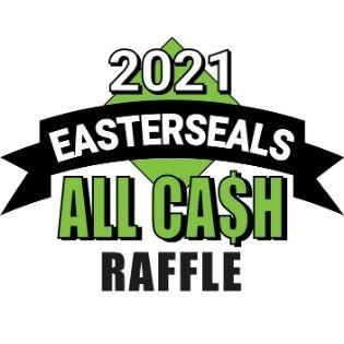 2021 Easterseals ALL CASH Raffle logo