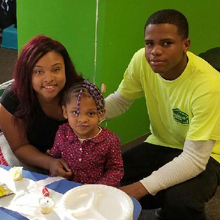 Donyell Walker and his family