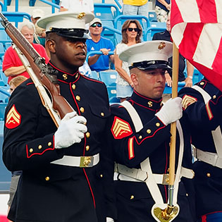 Honor Guard at Easterseals Our Serve