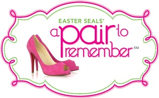 easterseals, pair, shoes, fashion, ladies, lunch, donate, development