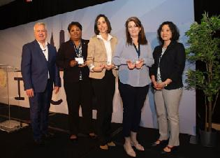 Dr. Tracy Neal-Walden and Dr. Anneke Vandenbroek Recognized at the Cohen Veterans Network Annual Meeting