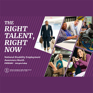 National Disability Employment Month