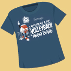 VolleyBACK t-shirt