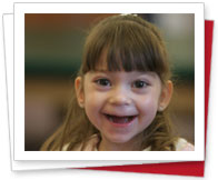 Smiling   friend of Easter Seals