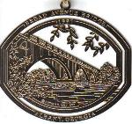 "Click here for more information about City of Albany 1997 Ornament, ""Broad Ave. Bridge"""