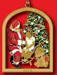 "Click here for more information about City of Albany 2012 Ornament, ""A Visit from St. Nicholas"""